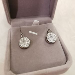 Silver Earring with Jewelry box